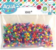 Aqua pearls, balení 1000ks, Mix barev