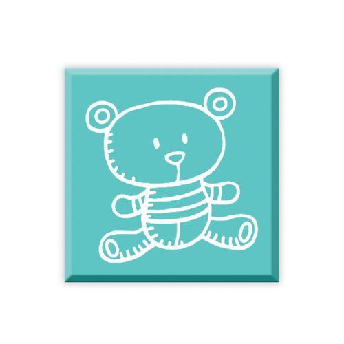 Dřevěné razítko - Medvídek 1