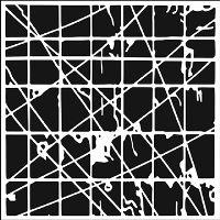 "Šablona 12""x12"" (30,5 x 30,5 cm), Tangled Web"