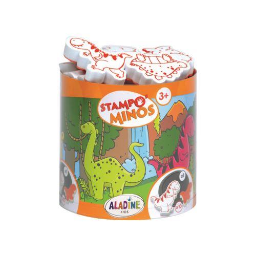 Razítka s příběhem Stampo MINOS - Dinosauři 1