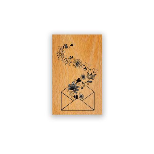 Dřevěné razítko - Psaníčko 1