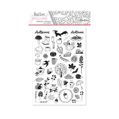 Diářová razítka Aladine Stampo BULLET JOURNAL - Pozdim 1