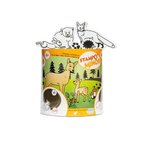 Razítka s příběhem Stampo MINOS - Lesní zvířátka 1