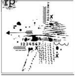 """Šablona 6""""x6"""" , Stencil the story, mini"""