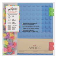 Kreativní deník WAFF, velikost A5, blue