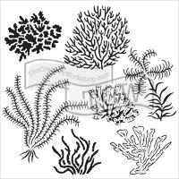 """Šablona 6""""x6"""" (15,2 x 15,2 cm), Gulf Coast Flora"""
