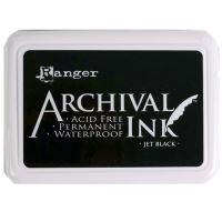 Archival permanetní inkoust, černý