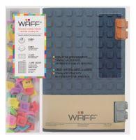 Kreativní deník WAFF, velikost A5, glitter navy