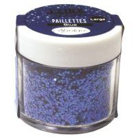 Diamantové třpytky - modrá