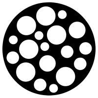 "Šablona 4""x4"" , Petri Dish Fragments"