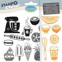 Gelová razítka StampoClear, cukrárna