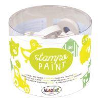 StampoPaint, malovací pěnová razítka - farma