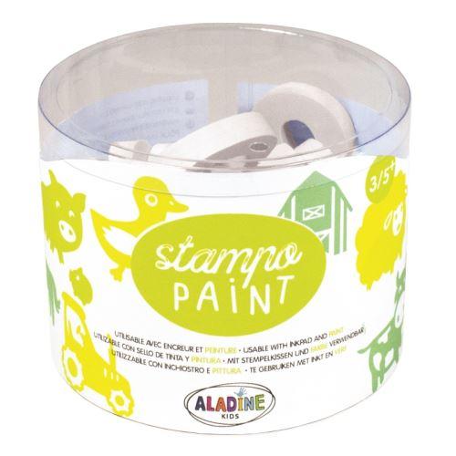 Malovací pěnová razítka StampoPaint - Farma