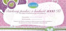 Svatební dárková poukázka v hodnotě 1 000 Kč