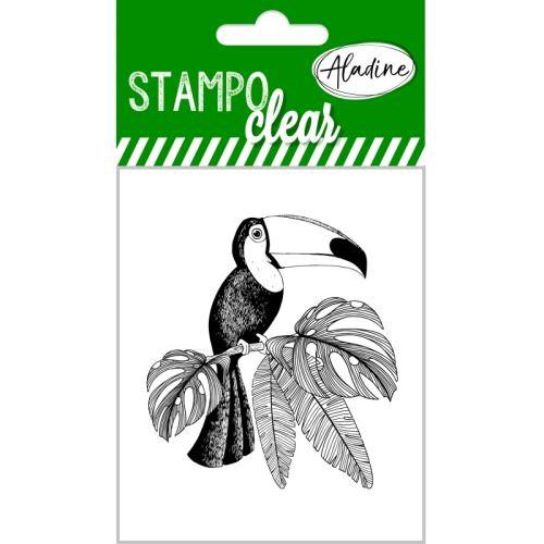 Gelová razítka StampoClear, tukan
