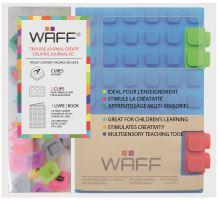 Kreativní deník WAFF, velikost A6, blue
