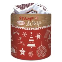 Aladine razítka StampoScrap, Vánoce