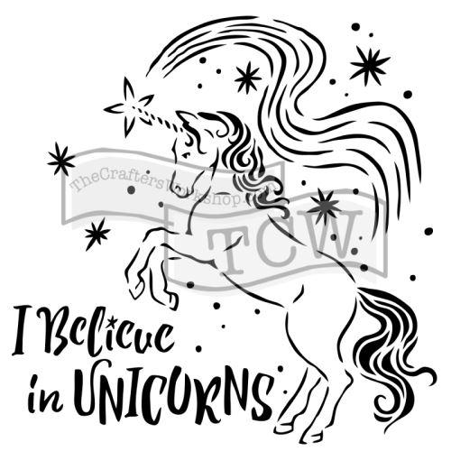 Šablona TCW - Believe in Unicorns