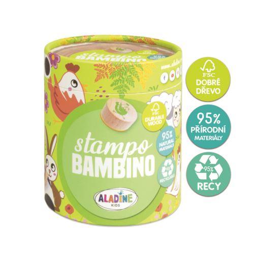 Dřevěná dětská razítka Stampo BAMBINO - Farma 1