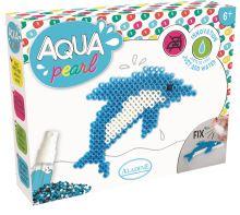 Aqua korálky, dárková sada Delfín