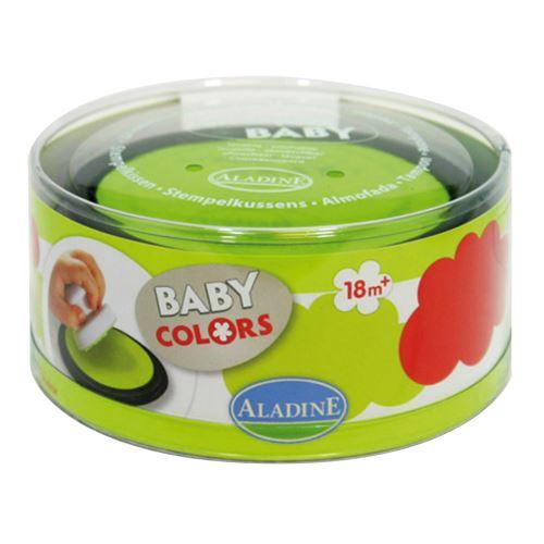 StampoBaby, červená a zelená poduška