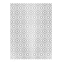 Rýžový papír A3 - metalické kapky - stříbrné