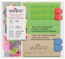 Kreativní deník WAFF, velikost A6, green