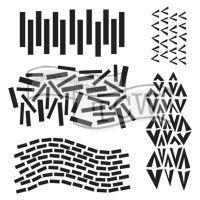 """Šablona 12""""x12"""" (30,5 x 30,5 cm), Dash V"""