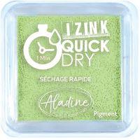 Razítkovací polštářek Izink Quick Dry, rychle schnoucí - světle zelená