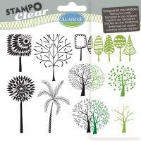 Gelová razítka StampoClear, stromy