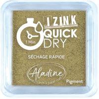 Razítkovací polštářek Izink Quick Dry, rychle schnoucí - zlatá