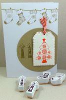Aladine razítka StampoScrap, vánoční snění
