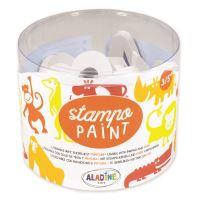 StampoPaint, malovací pěnová razítka - safari