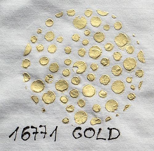 3D pasta Cadence Fabric měnící barvu, zlatá