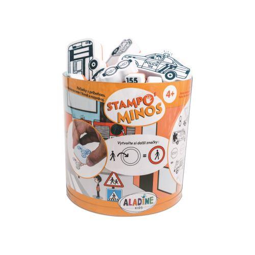 Razítka s příběhem Stampo MINOS - Dopravní protředky 1