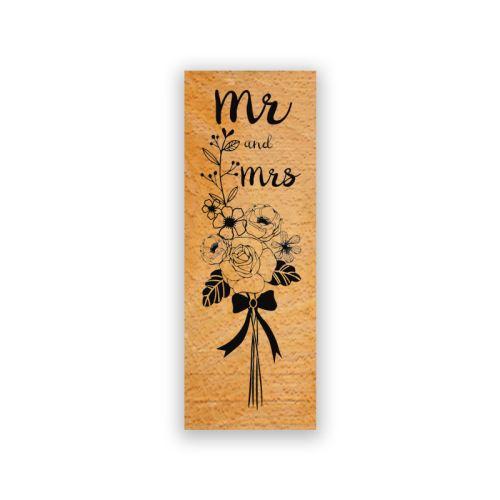 Dřevěné razítko - Pan a paní 1