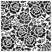 """Šablona TCW 12""""x12"""" (30,5 x 30,5cm), Rose Garden"""
