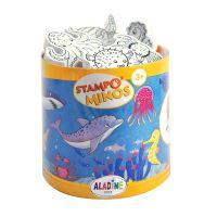 Razítka s příběhem StampoMinos, Mořský svět
