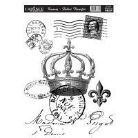Nažehlovací nálepka, 25x35cm, královská pohlednice