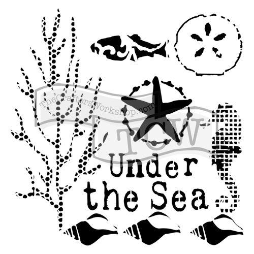 Šablona TCW -  Under the sea