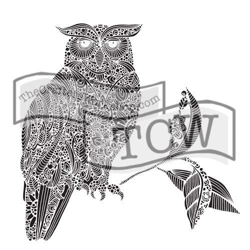Šablona TCW -  Wise owl