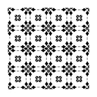 "Šablona 12""x12"" (30,5 x 30,5 cm), Circle Tiles"