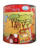 StampoStory, výtvarný kufřík, Safari