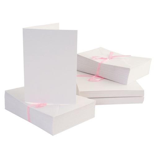 Základy přání a obálky A6, 100ks (240g/m2)