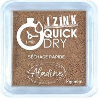 Razítkovací polštářek Izink Quick Dry, rychle schnoucí - měděná