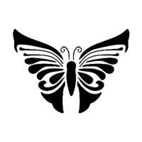 Šablona Cadence, 15x20 cm - motýl