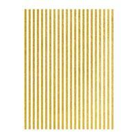 Rýžový papír A3 - metalické proužky - zlaté