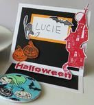 Halloween: Jmenovky na stůl