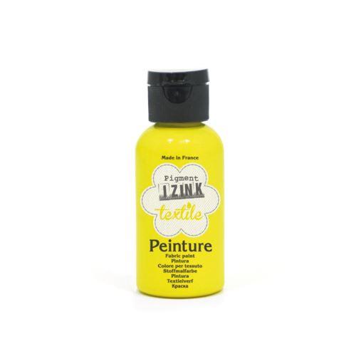 Klasická textilní barva Izink, 50ml - žlutá