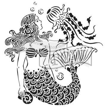 Šablona TCW -  Mermaid Dream
